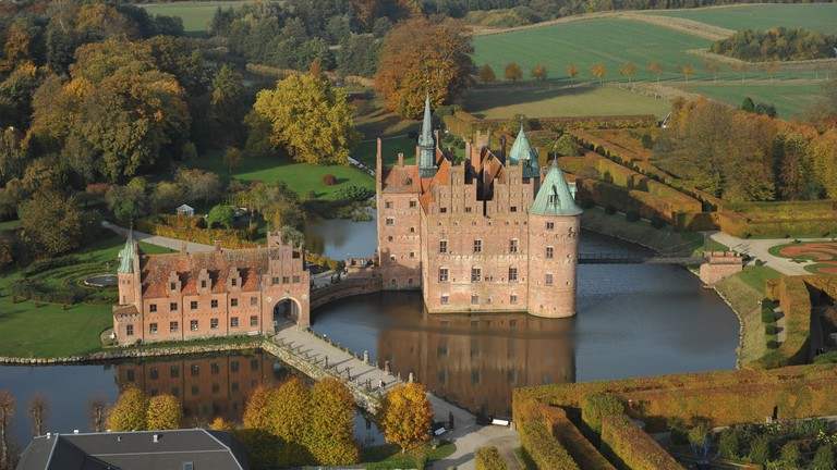 Egeskov Castle-Denmark-Fyn Island