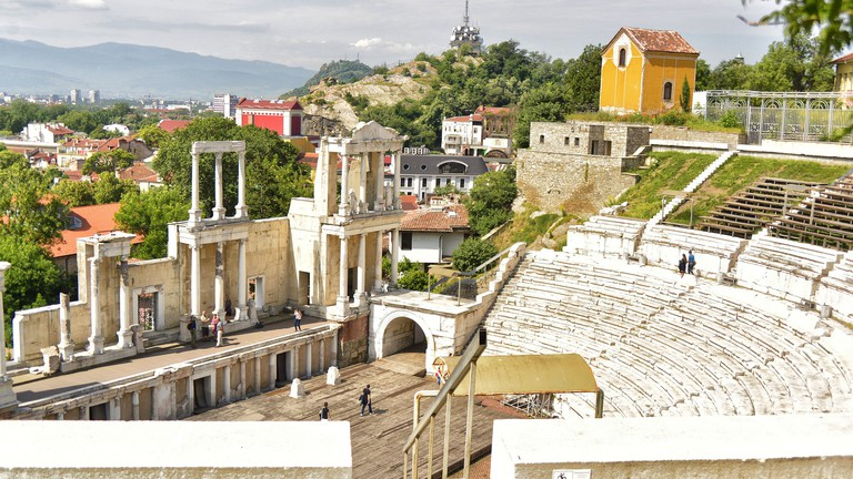 Plovdiv's Ancient Theater