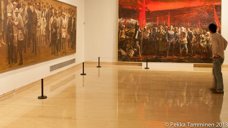 Inside the National Art Museum