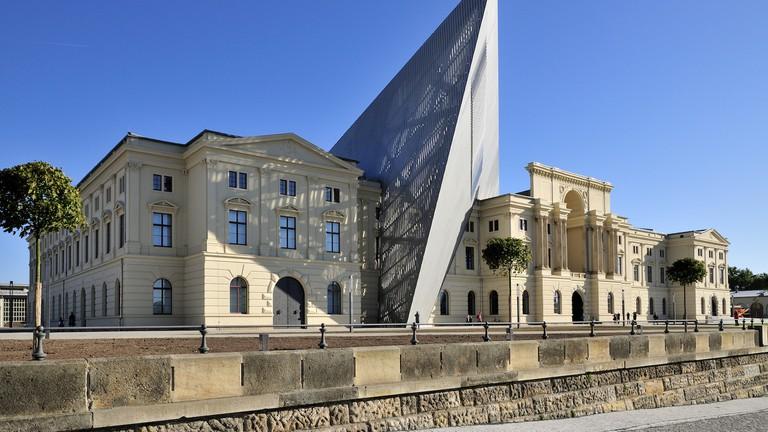 Dresden's Neustadt is home to Bundeswehr Museum of Military History, modernised by Daniel Libeskind