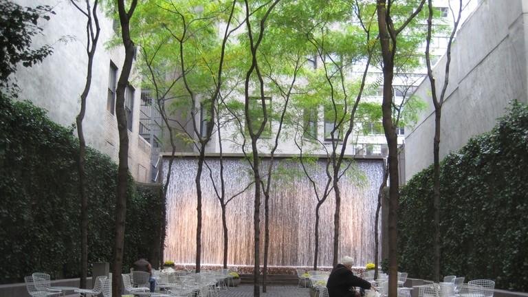 Paley Park, New York, 2010. Photograph