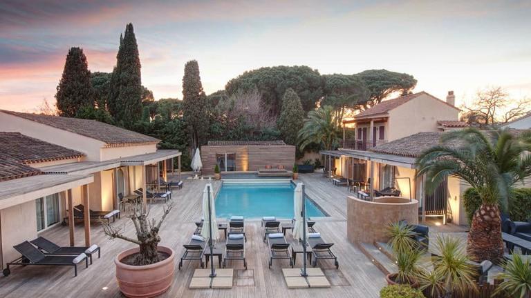 The Villa Cosy in St Tropez