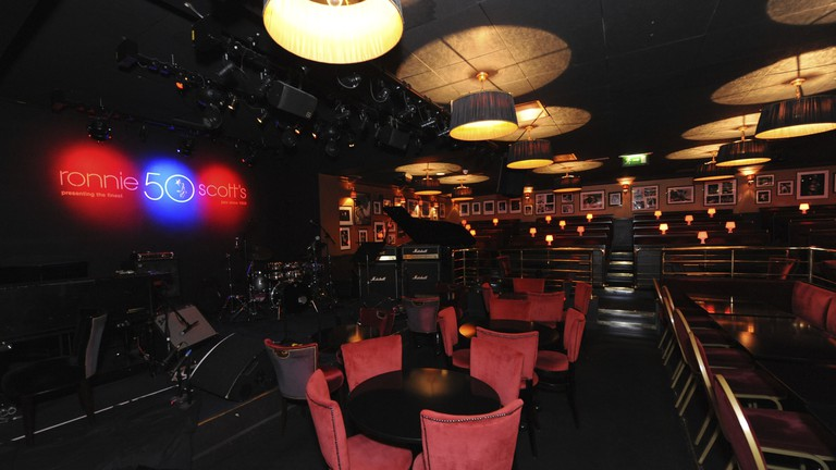 Ronnie Scott's stage