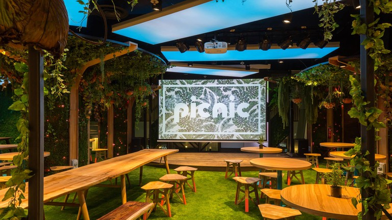 Communal Spaces and Quirky Decor at Picnic