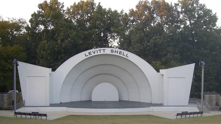 Levitt Shell at Overton Park
