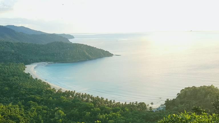 View of Nagtabon Beach
