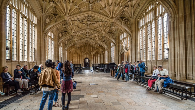 Interior of Bodleian Library