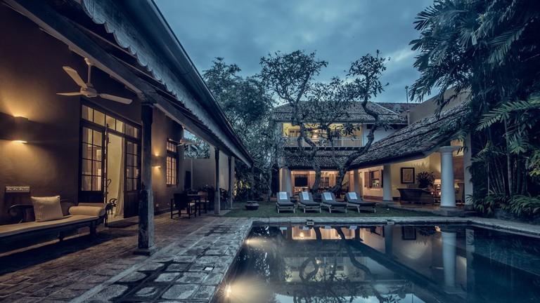 Pool Side at the Taru Villa on Rampart Street