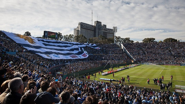 Estadio Centenario football stadium, Montevideo, Uruguay