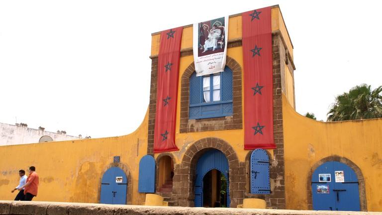 The entrance of La Sqala