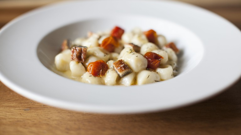 Gnocchi with tomato