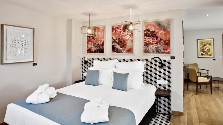 Junior room at La Villa du Taur| Courtesy La Villa du Taur