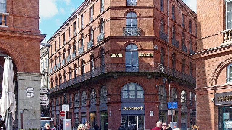 Le Grand Balcon hotel| Didier Descouens |Wiki Commons