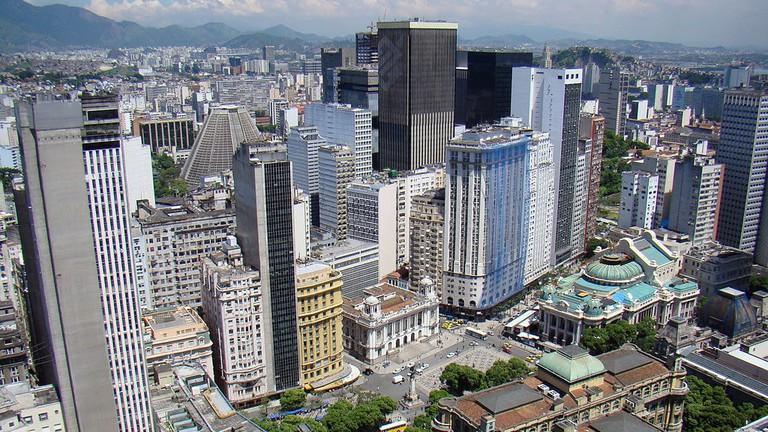 Rio de Janeiro city centre