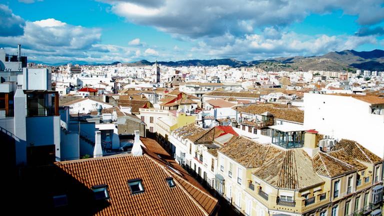 Casa Vazquez offers some great views over Málaga