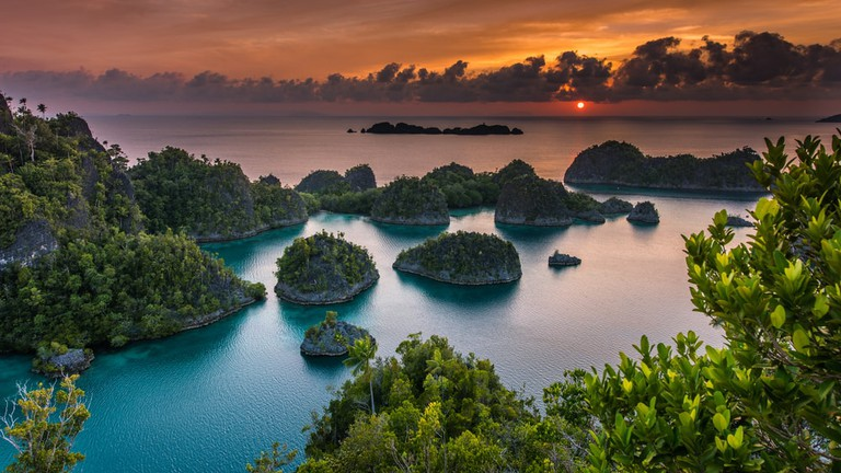 Sunset in Pianemo, Raja Ampat