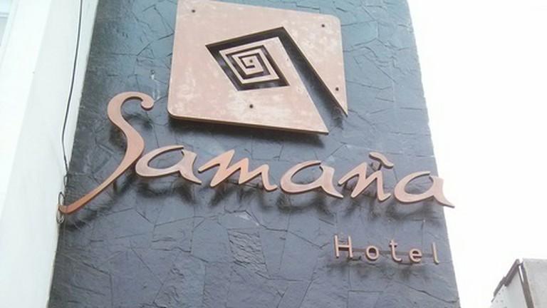Entrance to Hotel Samana |Will Lees