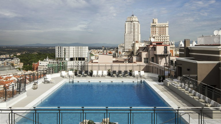 The best hotels in madrid with rooftop pools - Hotels in madrid spain with swimming pool ...