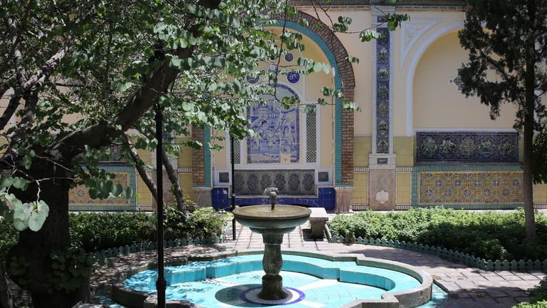 Moghadam Museum has exquisite tiles throughout