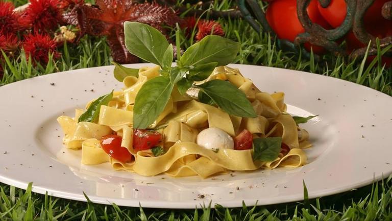 Italian cuisine at Pomodorino in Lagao