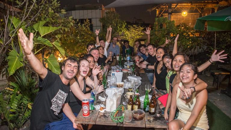 Six Degrees Backpackers Hostel, Jakarta
