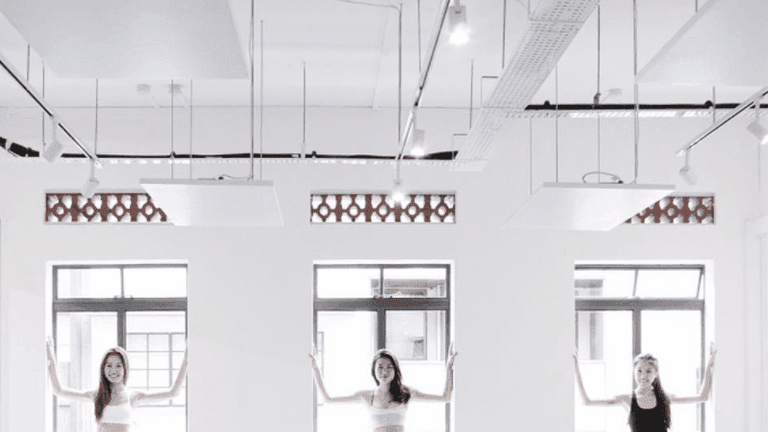Expert guidance at Yoga Lab