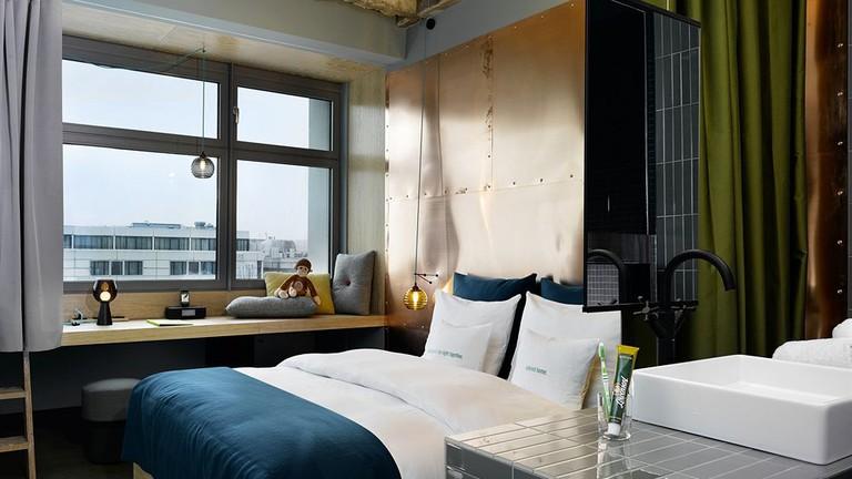 Guestroom at 25hours Hotel Bikini Berlin