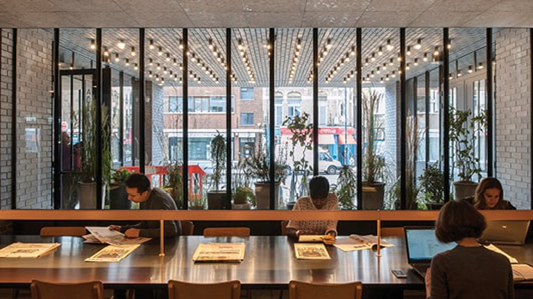 The Ace Hotel Shoreditch is a great place to get work done