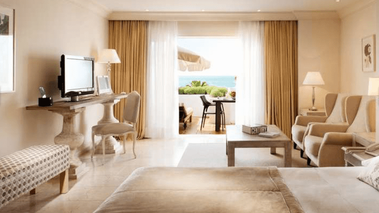 The Puente Romano is one of Marbella's oldest luxury resorts