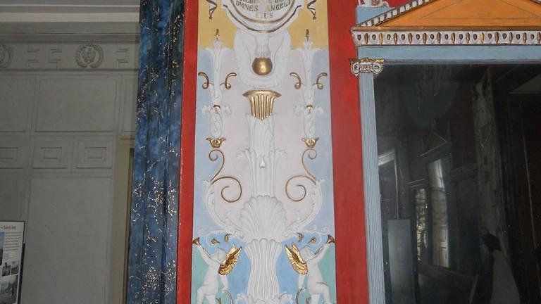The interiors at Villa Doria d'Angri