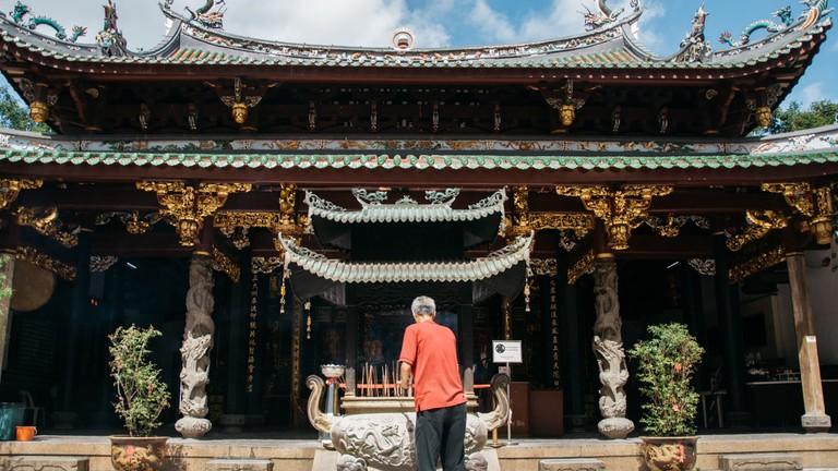 Thian Hock Keng Temple in Singapore