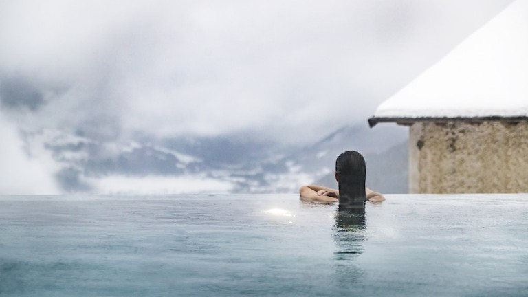 QC Terme Bagni Vecchi thermal spa in Bormio, Lombardy   Courtesy QC Terme