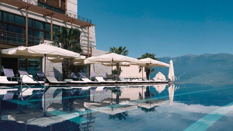 Lefay Resort and SPA Lago di Garda, Gargnano, Italy.