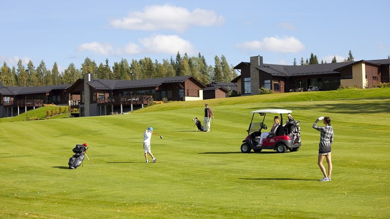 Golf course at Golden Resort