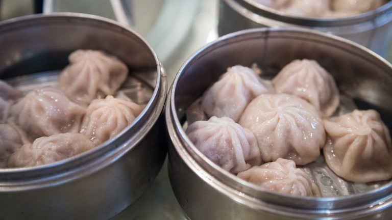 Soup dumplings is a dim sum dish well-liked by many