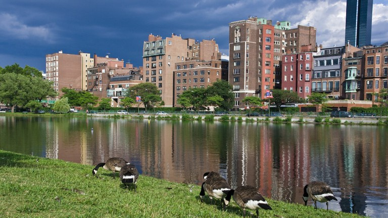 charles river esplanade boston running