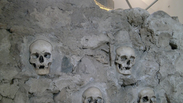 The Skull Tower in Nis