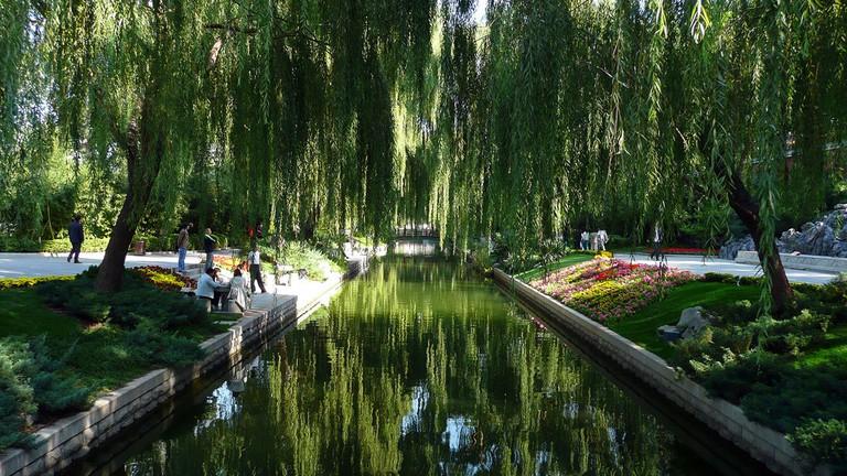 Beijing Canal garden