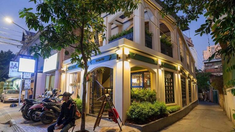 La CHRONIQUE Cafe & Bistro, Phnom Penh