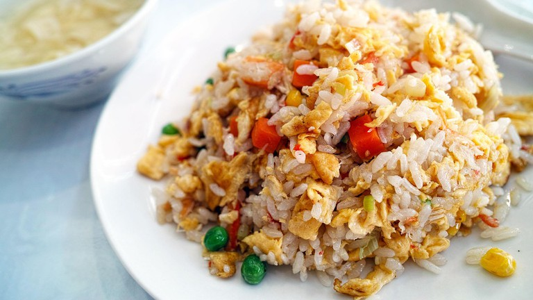 Fried Rice Chinese Cuisine Restaurant Diet Cuisine