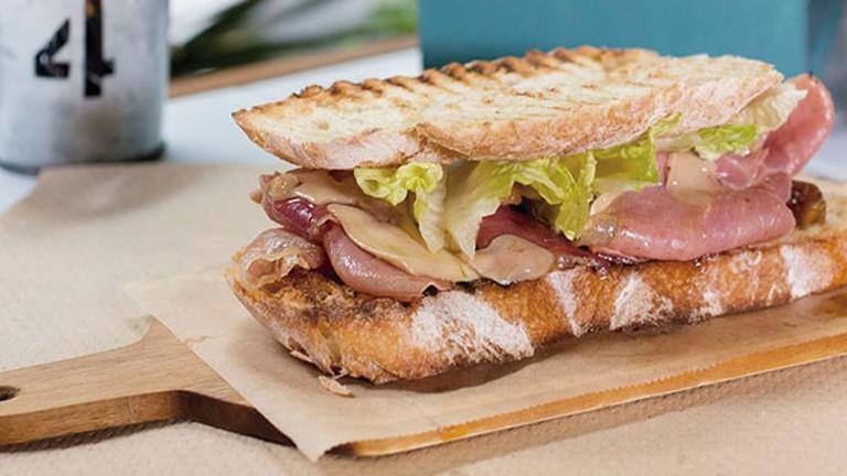 Sandwiches at Caravan Bar