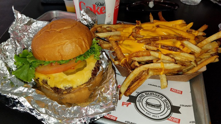 Lunch from Buns Burger Shop
