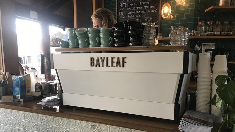 Inside Bayleaf Cafe
