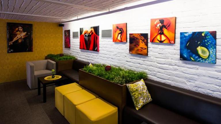 Prolaika gallery restaurant, Bratislava