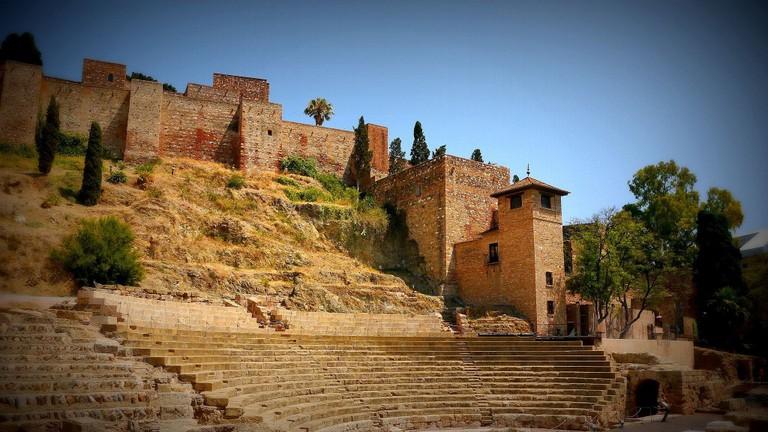 Málaga's Alcazaba