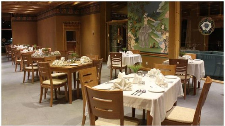 Olive Restaurant, Nak-Sel Boutique Hotel and Spa, Paro