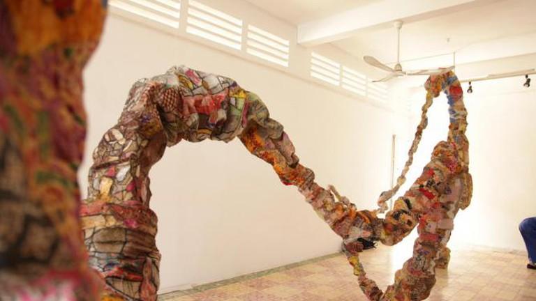 Digestion (installation), Srey Bandaul, 2013