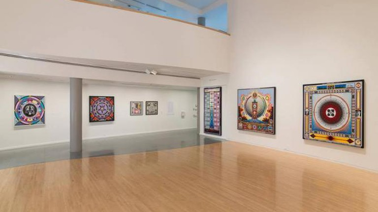 Paul Laffoley, exhibition view
