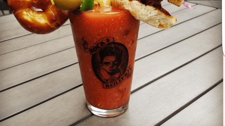 A Bloody Mary at Rock & Reilly's