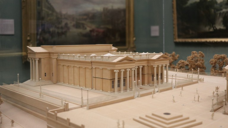 National Gallery Of Scotland Model